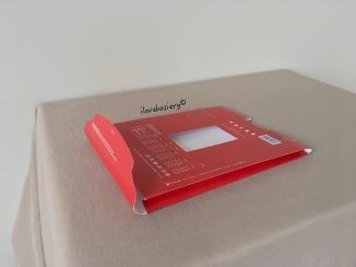 Paper bag-shaped box.