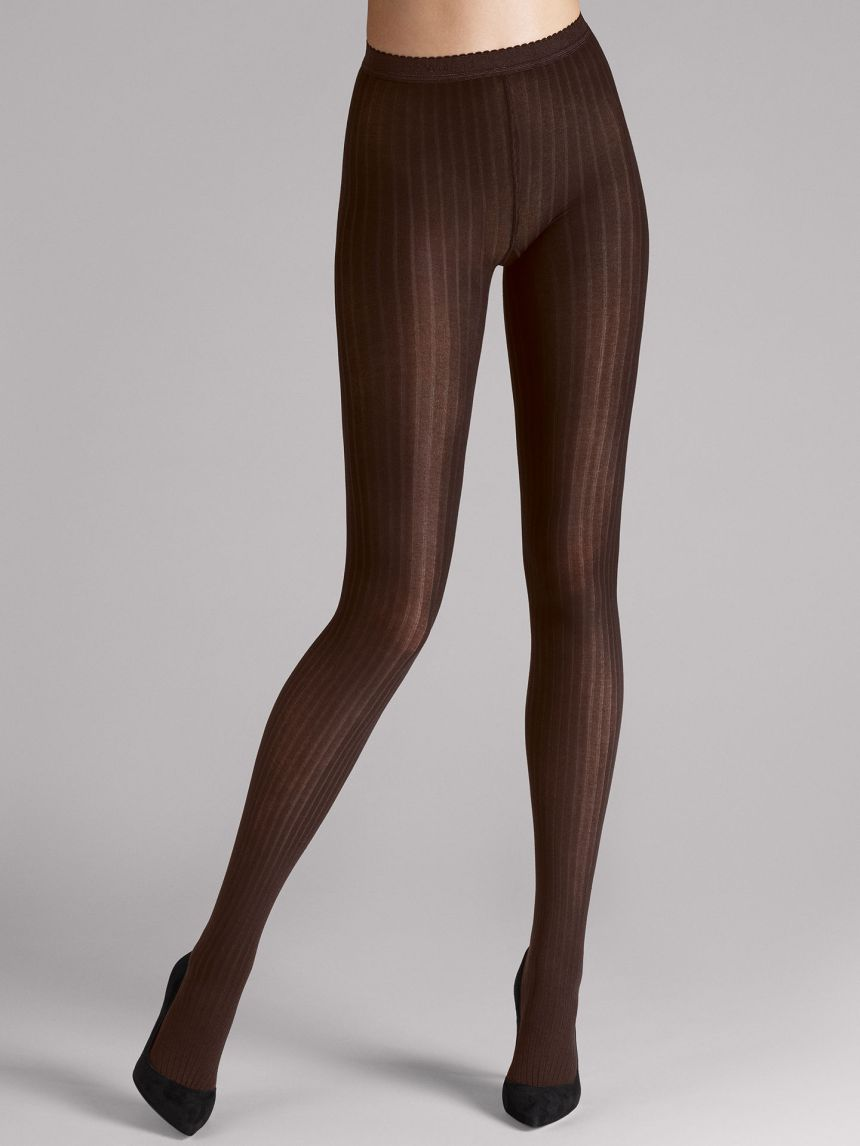12bedfd7345 Wolford Fine Cotton Rib Tights promotional image (sourced from Wolford)